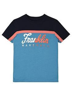 franklin-marshall-boys-colour-block-tee
