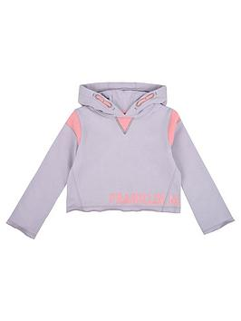 franklin-marshall-girls-overhead-crop-hoody