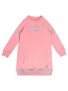 franklin-marshall-girls-longline-sweat-dress