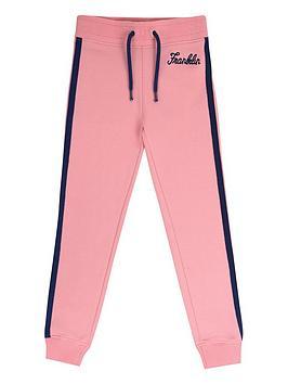 franklin-marshall-girls-colour-block-jogger
