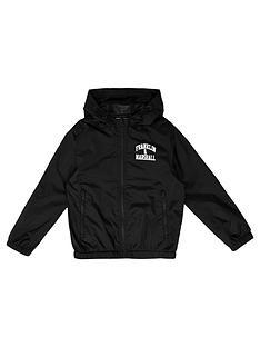 franklin-marshall-boys-fleece-lined-logo-windcheater-jacket