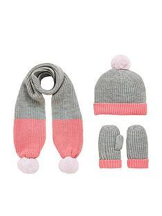v-by-very-toddler-girls-fur-pom-pom-scarf-hat-set