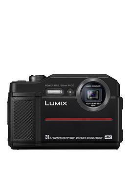 Panasonic Panasonic Lumix Dc-Ft7Eb-K Waterproof Camera - Black Picture