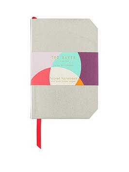 ted-baker-colour-by-numbers-mini-notebook-gold