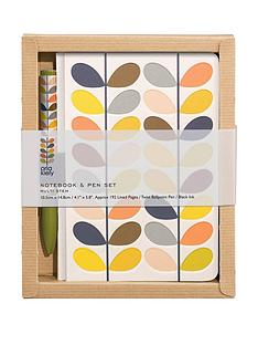 orla-kiely-pocket-notebook-and-pen-set-multi-stem