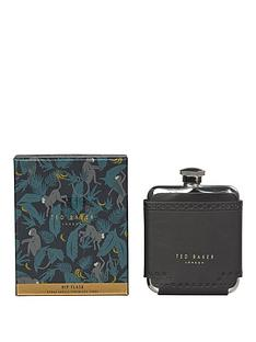 ted-baker-black-brogue-monkian-hip-flask