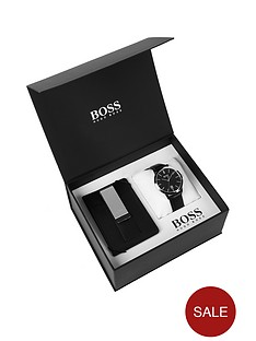 boss-hugo-boss-black-black-and-silver-detail-dial-black-leather-strap-mens-watch-and-leather-wallet-gift-set
