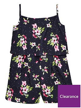 v-by-very-girls-floral-spotnbspplaysuitnbsp--navy