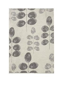 Very Iris Floral Rug Picture