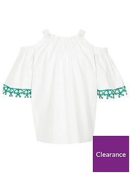 river-island-girls-white-crochet-trim-cold-shoulder-top