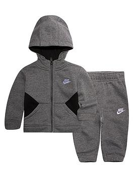 nike-sportswear-baby-boysnbspcore-tracksuit-set-carbon-heathernbsp