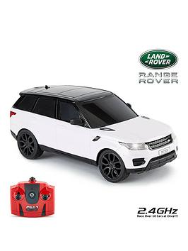 Very  1:24 Scale 2014 Range Rover Sport White 2.4Ghz Remote Control Car