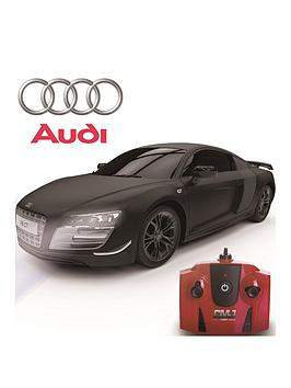 Very  1:24 Scale Audi R8 Gt Limited Edition Black 2.4Ghz Remote Control Car