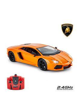 Compare prices for 1:14 Lamborghini Aventador Orange Remote Control Car