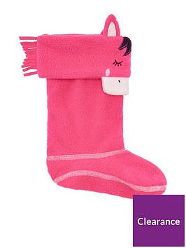 joules-girls-horse-welly-socks-pink