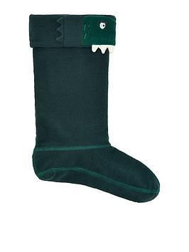 joules-boys-dinosaur-welly-socks-green