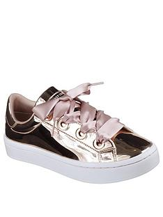 skechers-hi-lites-liquid-bling-plimsoll-rose-gold