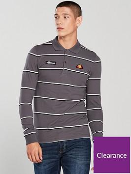 8f4fe221f6 Maffio Stripe Long Sleeve Polo