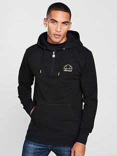 ellesse-letto-half-zip-hoodie