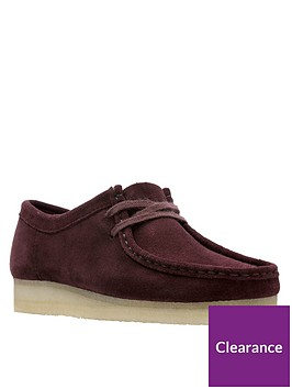 clarks-originals-originals-wallabee-flat-shoes-burgundy