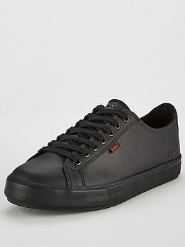 kickers-tovni-leather-lace-up-plimsoll