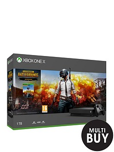 xbox-one-x-console-with-playerunknowns-battlegrounds-and-optional-extras