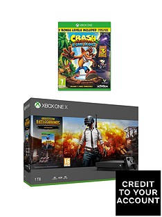 xbox-one-x-console-with-pubg-crash-bandicoot-nsane-trilogy-with-optional-extras