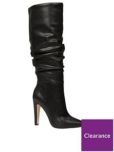 call-it-spring-capucci-ruched-knee-high-heeled-boot-black