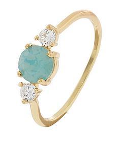 accessorize-sparkle-stone-ring-green