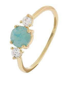 accessorize-sparkle-stone-ring-green