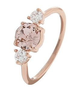 accessorize-sparkle-stone-ring-rose-gold