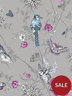 arthouse-paradise-garden-silver-wallpaper