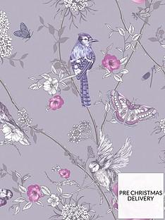 arthouse-paradise-garden-lilac-wallpaper