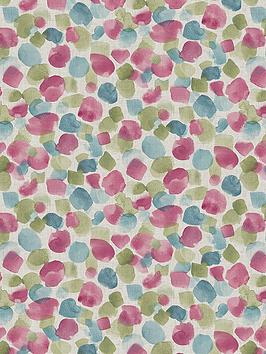 ARTHOUSE Arthouse Painted Dot Raspberry Wallpaper Picture