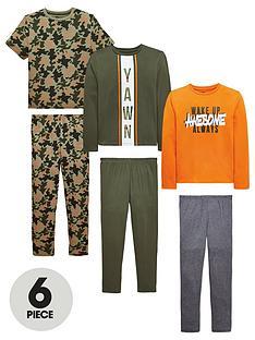 v-by-very-boys-6-piecenbspcamo-yawn-and-awesome-pyjama-set-multi