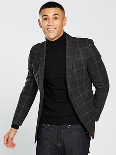 v-by-very-wool-mix-check-blazer