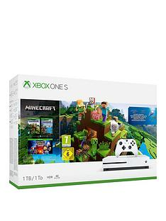 xbox-one-s-1tb-minecraft-bundle-with-optional-extras