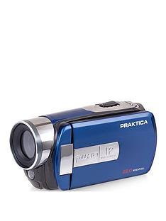 praktica-praktica-z160ir-camcorder-infra-red-16x-digital-zoom-nbspfhd-wifi-app-control-blue