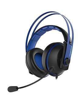 Compare retail prices of Asus Cerberus V2 Headset Blue PCMacXboxPS4 or Mobile Gaming 53mm Drivers Mic to get the best deal online