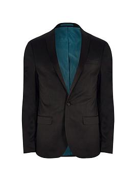 river-island-big-and-tall-black-slim-fit-suit-jacket
