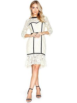paper-dolls-lace-pephem-midi-dress-cream
