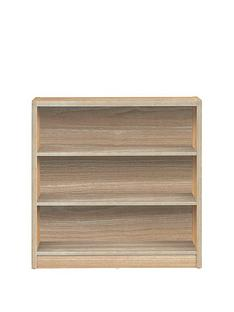 metro-small-wide-bookcase-oak-effect