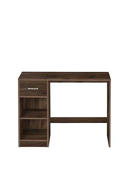 Very Metro Desk - Walnut Effect Picture