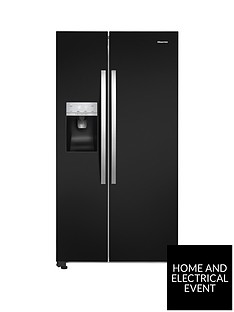 hisense-rs696n4lb1-91cmnbspwide-total-no-frost-american-style-fridge-freezer-black