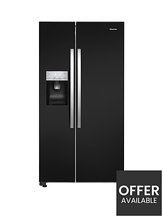 hisense-rs696n4lb1-91cmnbspwide-total-no-frost-american-style-fridge-freezer-black
