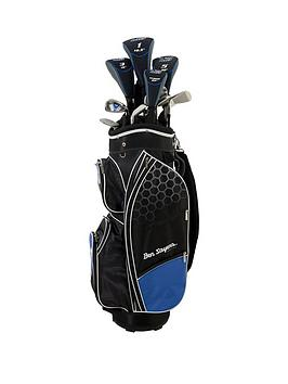 Ben Sayers   M8 Package Set Blue (Cart Bag) Graphite/Steel - Men'S Right Hand + 1 Inch