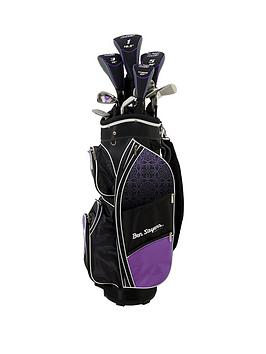 Ben Sayers   m8 Package Set Purple (Cart Bag) Ladies Right Hand