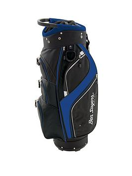 Ben Sayers   dlx Cart Bag Black/Blue