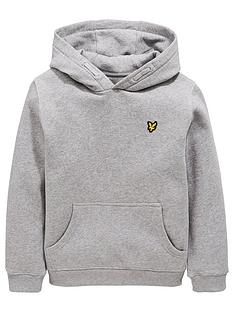 lyle-scott-boys-classic-overhead-hoodie-grey-heather