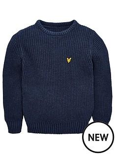 lyle-scott-boys-knitted-crew-neck-jumper